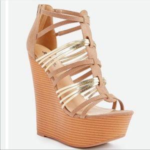 Just fab wedge heels